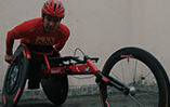 Vídeo sobre atleta paraolímpico